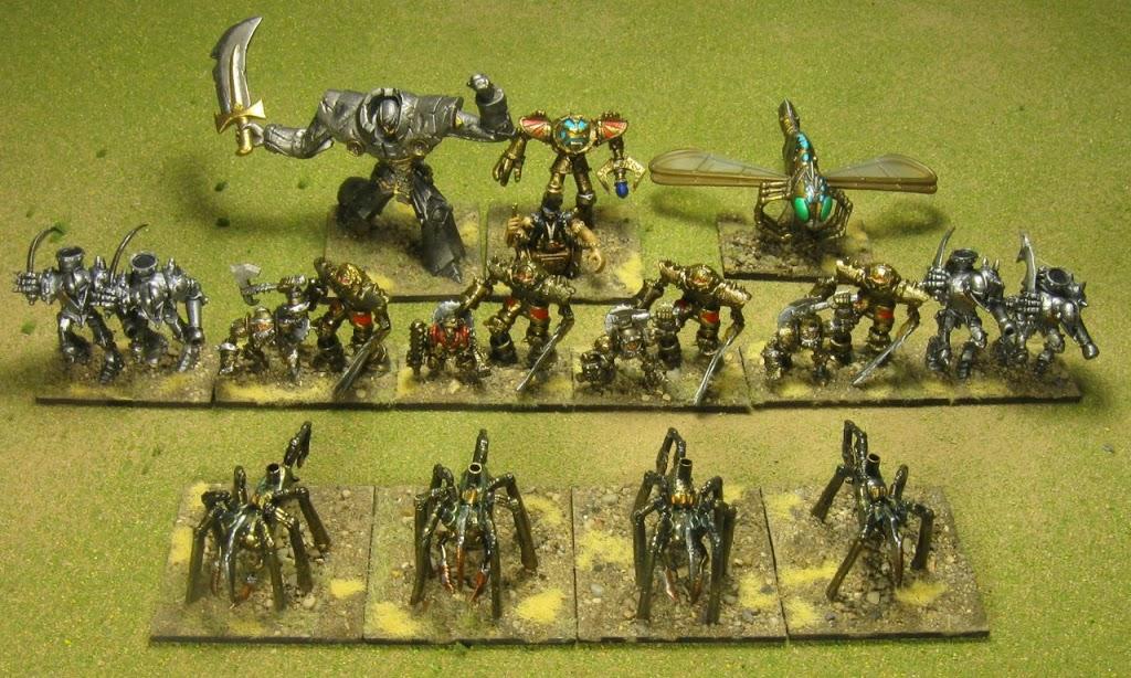 HoTT Army: Professor Hans' Metal Minions