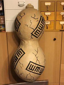 Gaara's sand gourd prop