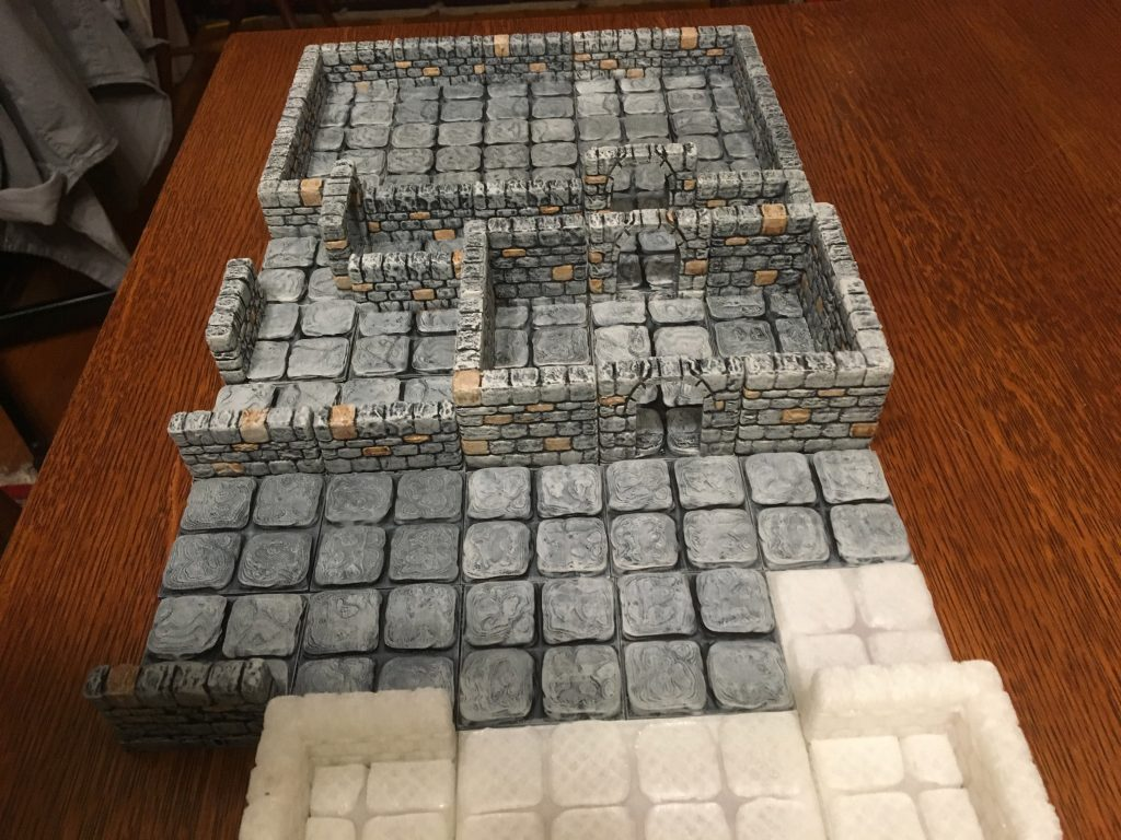 graphic regarding 3d Printable Dungeon Tiles identify OpenForge: 3d Posted Dungeon Terrain Study of None